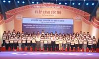 Phu Tho enaltece a los individuos sobresalientes en sector educativo