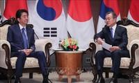 Japón aboga por mejorar relaciones con Corea del Sur