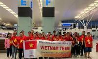 Estudiantes vietnamitas logran medallas de oro en competición de ciencias internacional