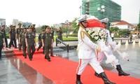 En gratitud a los combatientes de Vietnam caídos en la batalla camboyana