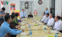 Continúan visitas de dirigentes vietnamitas a las comunidades católicas en ocasión de la Navidad
