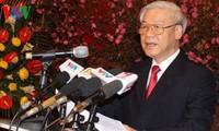 Mensaje de felicitación del presidente vietnamita en ocasión del Año Nuevo Lunar 2019