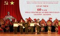 Conmemoran 60 años de la radiodifusión del Ejército Popular de Vietnam