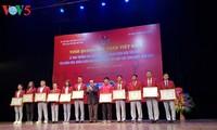 Enaltecen a los deportistas vietnamitas más destacados en 2018