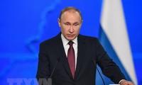 Presidente ruso aboga por negociar con Ucrania sobre una nacionalidad compartida