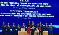 Firman Vietnam y UE acuerdos de libre comercio y de protección inversionista