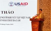 Brindan asistencia a víctimas del agente naranja/dioxina en 7 provincias vietnamitas