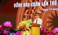 Inauguran Festival de Cultura, Deporte y Turismo de la etnia Cham