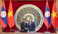 Vietnam y Laos por fortalecer cooperación legislativa