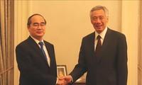 Singapur aspira a fortalecer cooperación integral con Ciudad Ho Chi Minh