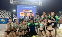 Selección femenina de balonmano playa de Vietnam entra en la semifinal de Juegos Mundiales de Playa