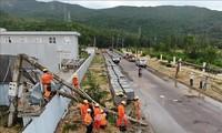 Localidades centrales de Vietnam enfrentan el tifón Matmo