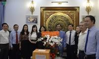 Vicepresidenta vietnamita afirma atención especial del Estado a los religiosos