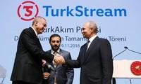 Rusia y Turquía inauguran el gasoducto hacia Europa