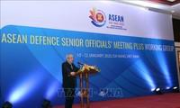 Inauguran conferencia ampliada del Grupo de trabajo de altos funcionarios de Defensa de la Asean