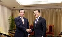 Vicepremier vietnamita aboga por intensificar cooperación con China y Laos