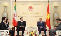 Vietnam interesado en promover cooperación con Irán y Sri Lanka en seguridad