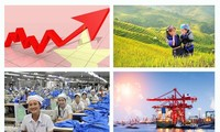 Economía vietnamita se sostiene ante impactos exteriores