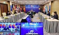 Concluye la Cumbre Especial de la Asean+3 sobre el Covid-19