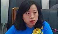 Periodista Tran Thi Thao, ejemplo en la divulgación sobre el combate antiepidémico