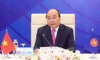 Líderes de la Asean llaman a unir esfuerzos para superar dificultades debido al covid-19