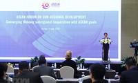 Es necesario fortalecer la relación complementaria entre la Subregión del Mekong y Asean