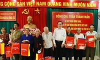 Jefe del Frente de la Patria de Vietnam visita a familias beneficiadas por políticas preferenciales