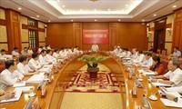 Máximo dirigente vietnamita evalúa la lucha anticorrupción en lo que va del año
