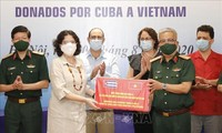 Vietnam recibe medicamentos donados por Cuba para el control del nuevo coronavirus