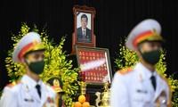 Líderes internacionales envían mensajes de pesar por el deceso de Le Kha Phieu