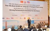 Ciudad Ho Chi Minh comprometida a estrechar la cooperación con socios estadounidenses