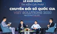 Concursantes de Viet Solutions interesados en desarrollo de economía digital