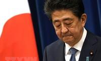Primer ministro japonés Shinzo Abe renuncia a su cargo