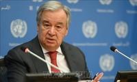 Secretario general de la ONU pide cooperación de potencias frente al cambio climático