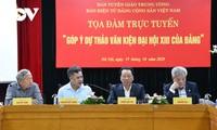 Coloquio sobre los documentos a presentarse en el XIII Congreso Nacional del Partido