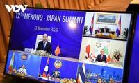 Líderes del mecanismo Mekong-Japón reafirman esfuerzos frente al covid-19 a favor de la recuperación económica