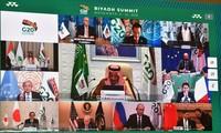 G20 hacia un futuro sostenible, inclusivo y resiliente