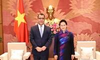 Líder del Parlamento vietnamita elogia los aportes de Chile, Nueva Zelanda e Indonesia