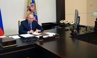 Conferencia de prensa anual del presidente ruso en el contexto de covid-19