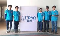 Estudiantes vietnamitas ganan medallas en Olimpiada Internacional de Física 2020