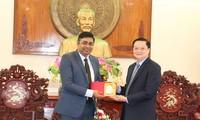 Can Tho fortalece cooperación con la India en educación, salud y tecnología informática