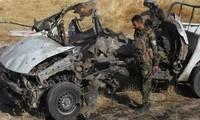 Mueren al menos cinco agentes de seguridad en un atentado con coche bomba en Irak
