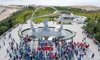 Zona en homenaje a los soldados de Gac Ma recibe a cerca de 220 mil visitantes desde su fundación