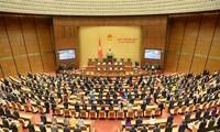 El Parlamento vietnamita de la XIV legislatura elegirá nuevos cargos en su último periodo de sesiones