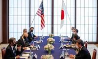 Cancilleres de Estados Unidos, Japón y Corea del Sur se reunirán en abril