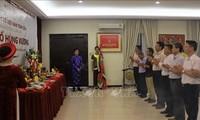 Comunidad vietnamita en Malasia rinde tributo a los reyes fundadores del país