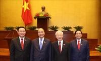 Líderes mundiales congratulan a los máximos dirigentes vietnamitas por su nuevo desempeño