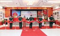 """Inauguración de la exposición """"Parlamento vietnamita- Nuevos caminos de renovación y desarrollo"""""""