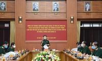 Unidades militares intensifican asistencia para la lucha anti-pandémica