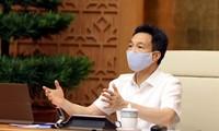 Gobierno vietnamita orienta la lucha contra la pandemia del covid-19 en Bac Giang